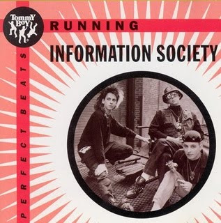 Information Society - Running (Vinyl, 12\'\' 1986)(Tommy Boy Music)