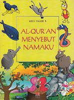 toko buku rahma: buku AL-QUR'AN MENYEBUT NAMAKU, pengarang hedi fajar, penerbit rosda