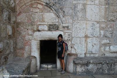 Puerta de la humildad - Iglesia de la Natividad - Belen - Palestina