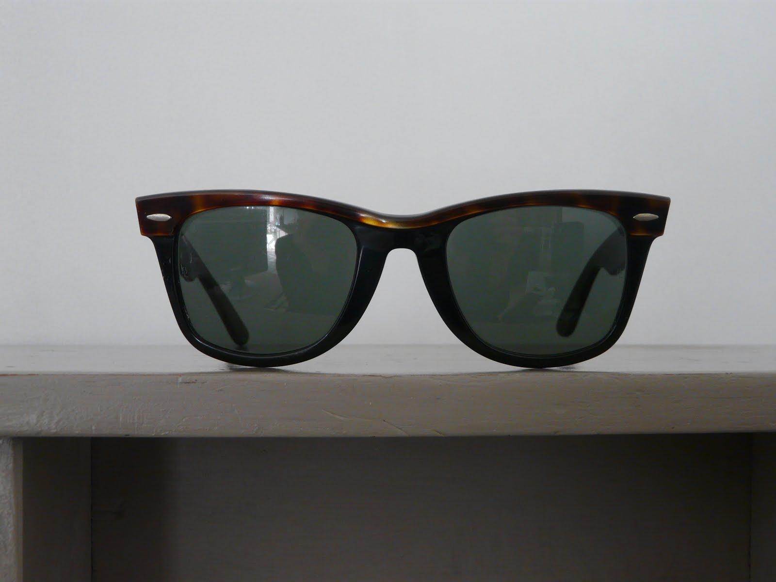 RARE - WAYFARER bicolore 80's - 90 euros