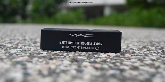 MAC lipstick in Singapore Changi Duty free