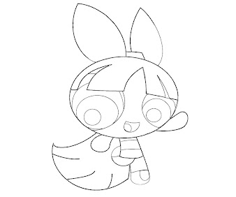 #1 Blossom Coloring Page