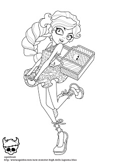 lagoona blue coloring pages - kolorowanki lagoona monster high