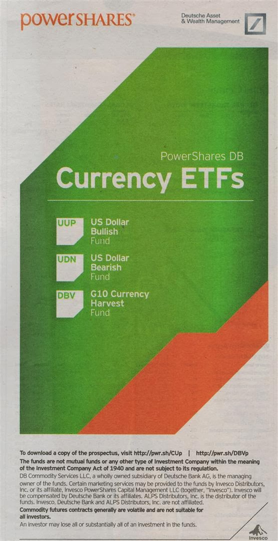 Powershares Currency ETF Ad by Invesco