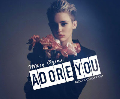 MILEY CYRUS - ADORE YOU LYRICS 2013 2014