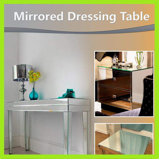 Mirrored Dressing Table