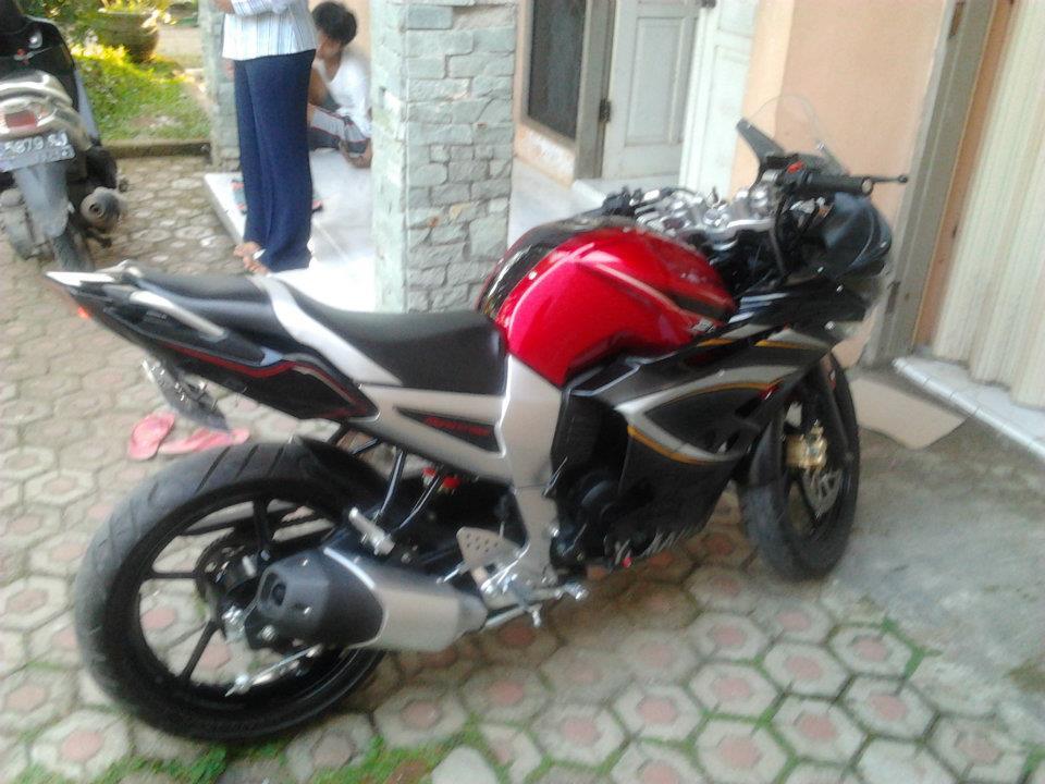Modif Yamaha Byson Stang Jepit