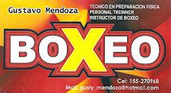 Gustavo Mendoza. Instructor de Boxeo