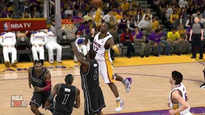 Dwight Howard in L.A Lakers NBA 2K12 Trade Roster Latest Patch