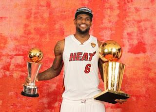 Heat Meraih Gelar Juara NBA