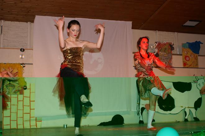 Le bal au palais de l'émerade ( danse aods)