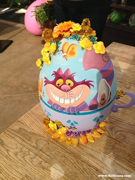 Cheshire Cat Easter Egg
