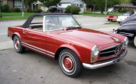 World of classic cars mercedes benz w 113 230sl 250sl for Mercedes benz gas chambers