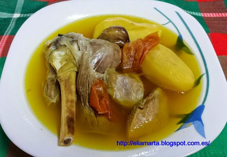 MIS RECETAS ¡¡Buen ver y buen comer!!: PEBRE DE CORDERO