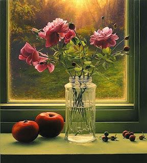 Ventanas Flores Bodegones Pinturas