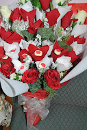 Jambangan Bunga Coklat