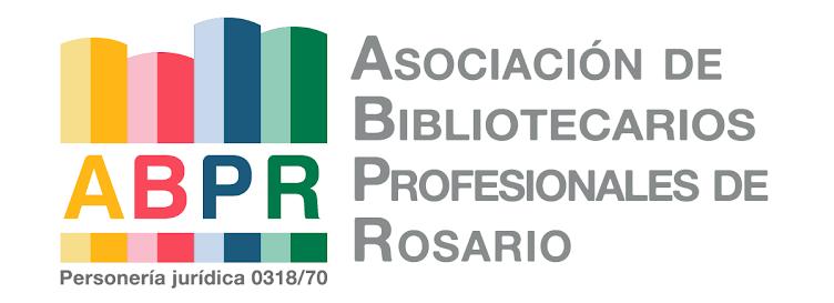 ASOCIACIÓN DE BIBLIOTECARIOS PROFESIONALES ROSARIO
