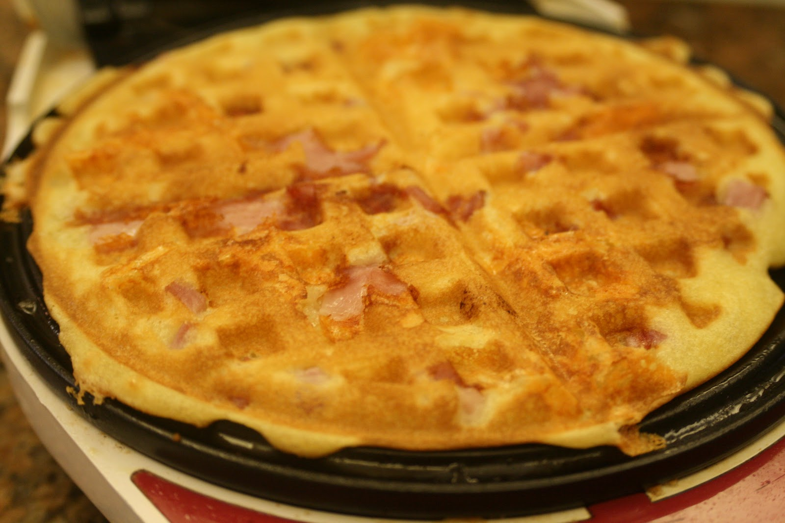 Ham-and-Cheese Waffles Recipes — Dishmaps