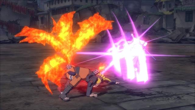 Robot Kyubi Naruto Beam Attack