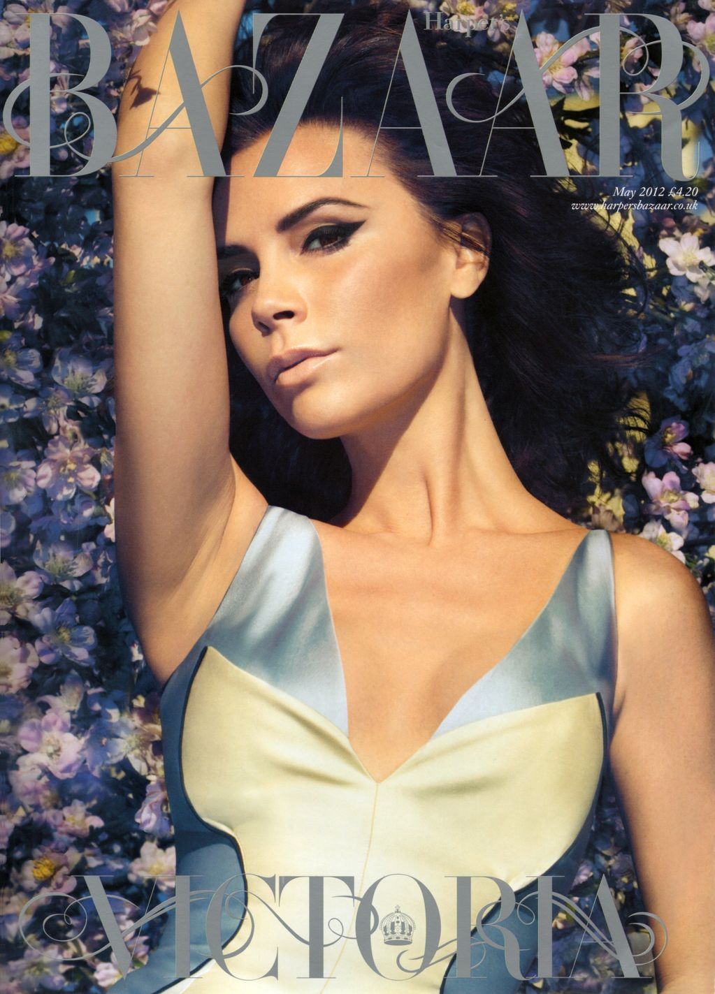 UK Harper's Bazaar May 2012: Victoria Beckham by Camilla Akrans