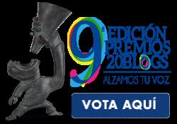Vota a Doctor Ojiplático en los IX #Premios20Blogs - Categoria Cultura y Tendencias