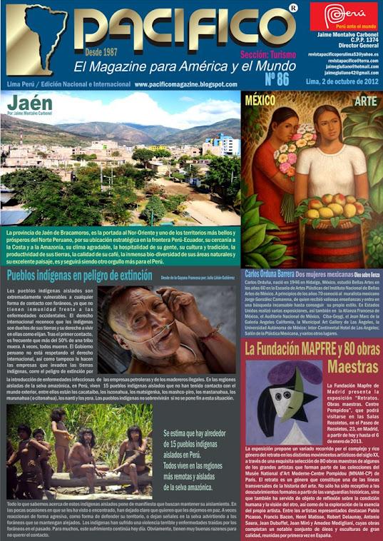 Revista Pacífico Nº 86 Turismo