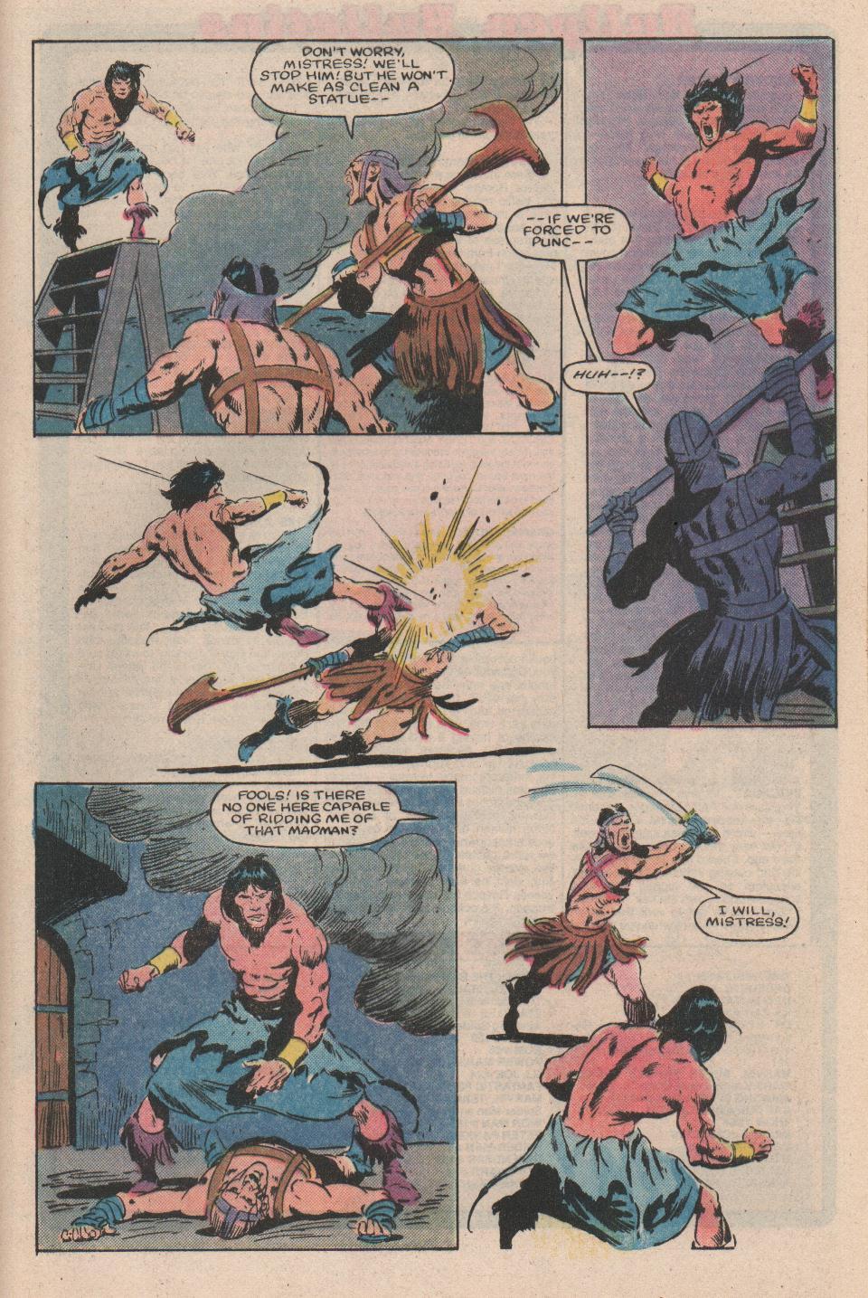 Conan the Barbarian (1970) Issue #159 #171 - English 21
