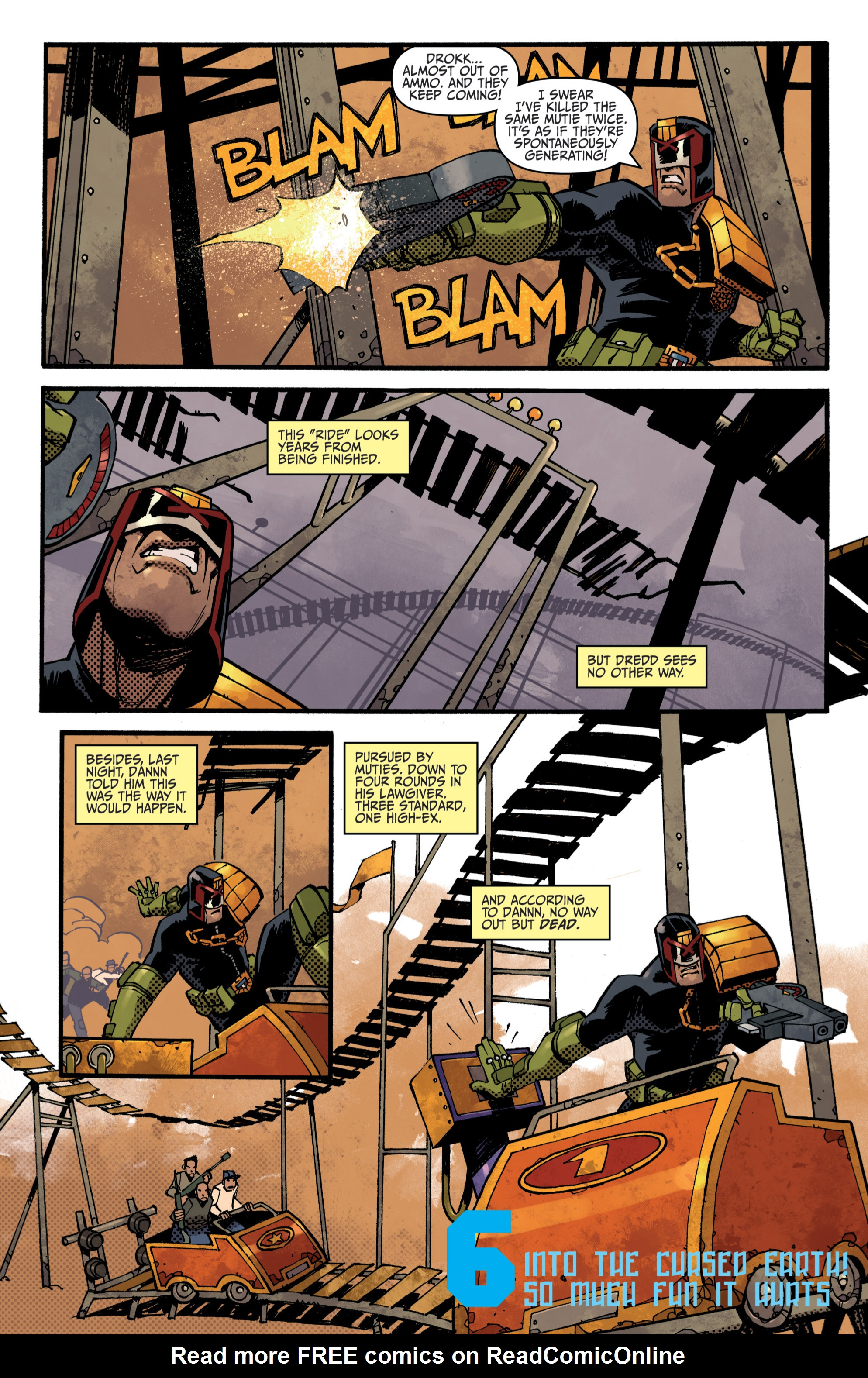 Read online Judge Dredd (2012) comic -  Issue # _TPB 3 - 42