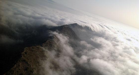Umbría del Factor, vista aérea de LM y MC. Yecla, agosto 2012