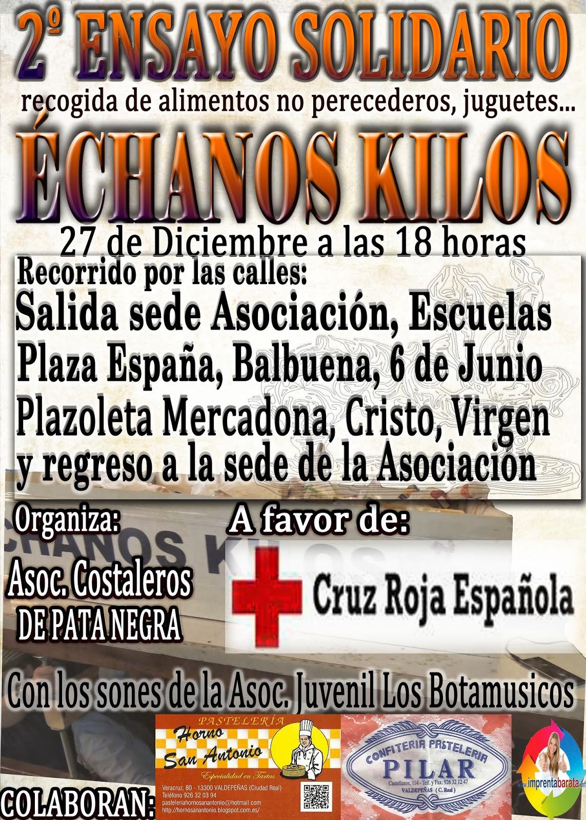 """II Ensayo Solidario """"Échanos Kilos"""""""