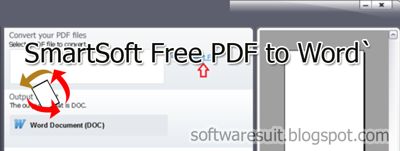 SmartSoft Free PDF to Word Converter Portable Crack ...