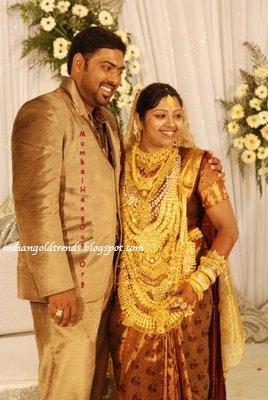 Latest Indian Gold and Diamond Jewellery Designs: kerala wedding