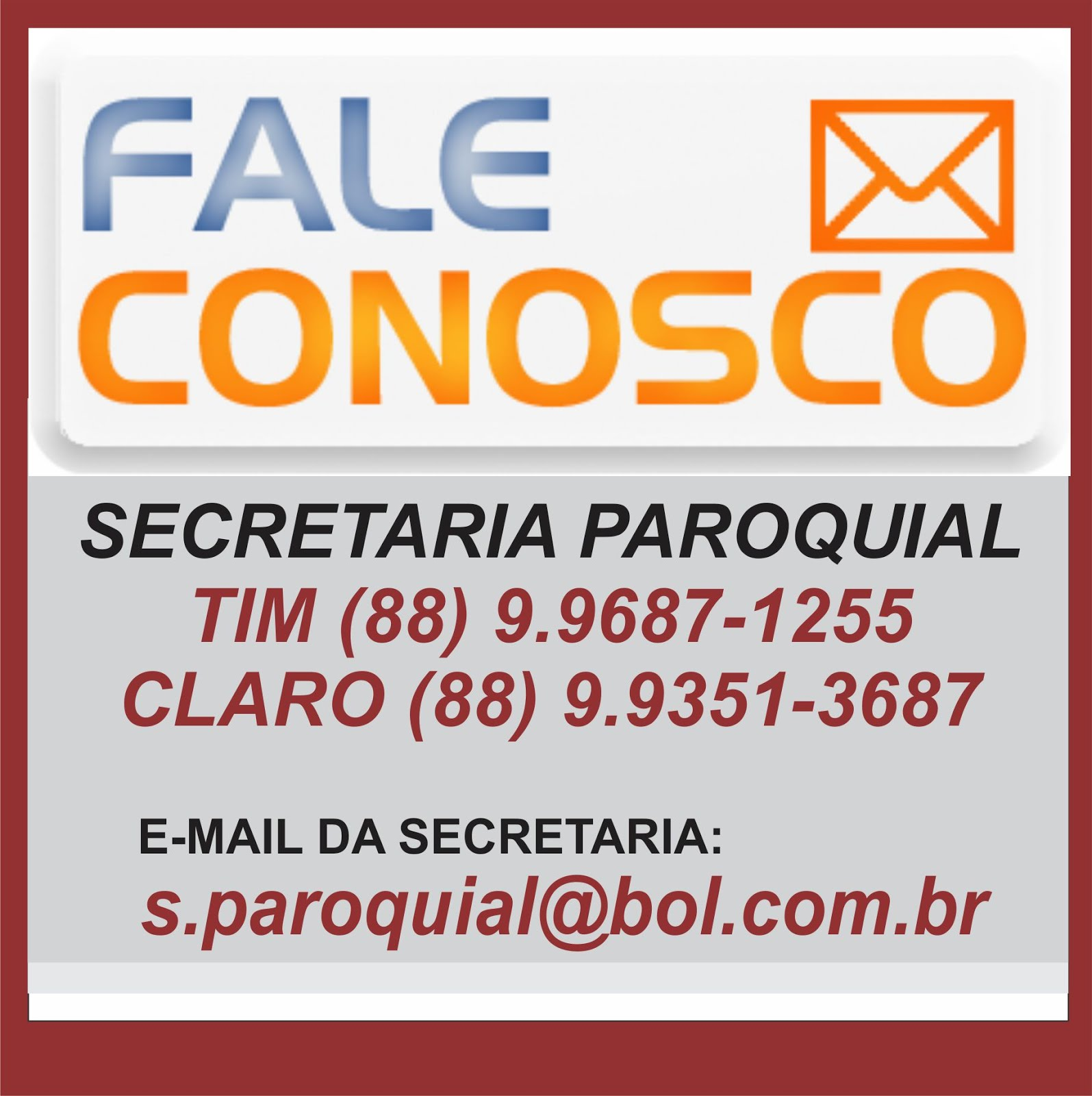 Fale Conosco