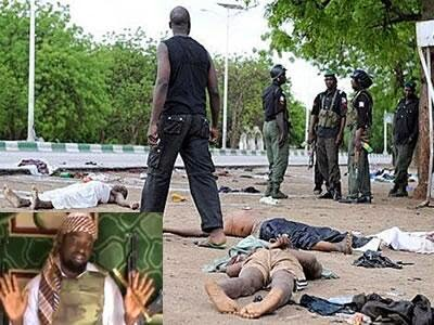 Photo Another Boko Haram Attack at Maiduguri Barracks