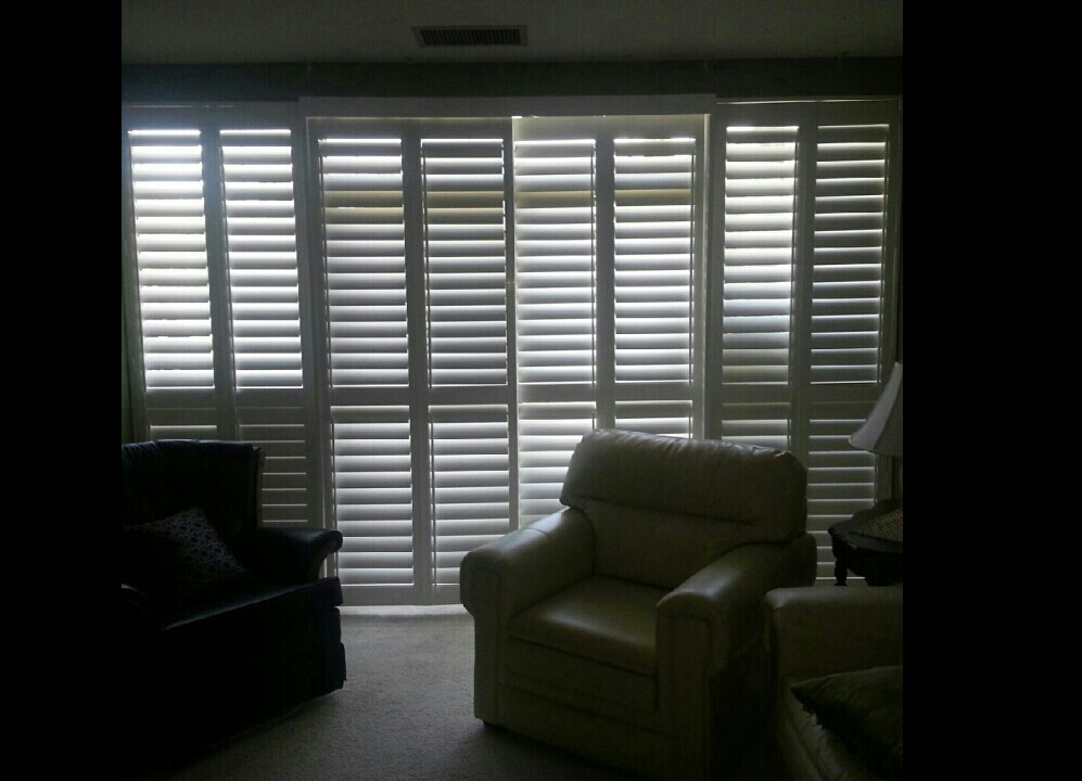 another view of the window shutter install