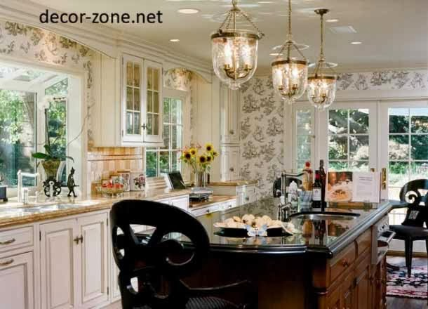 Creative kitchen wallpaper ideas designs patterns for Kitchen wallpaper ideas