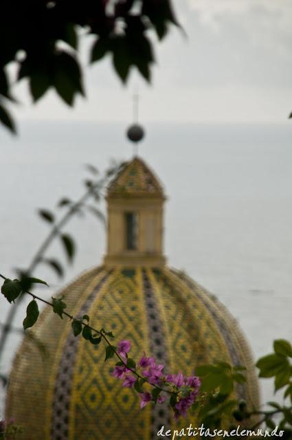 Iglesia de Santa María Asunta en Positano