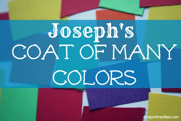 The kids bible story of joseph and his coat of many colors ask home