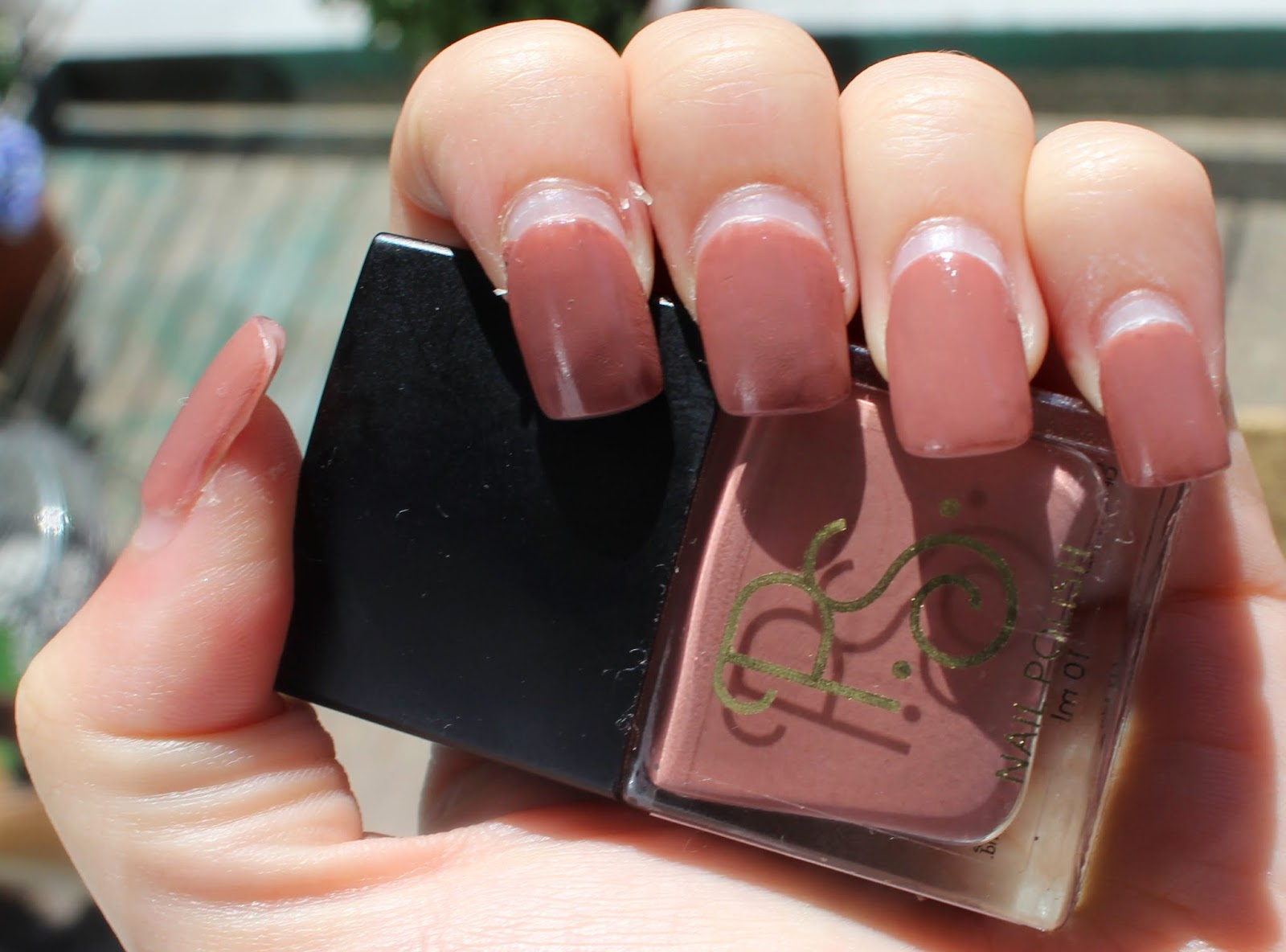 The Nail Polishes Don T Have Names But I Would Describe This Colour As A Brown My Boyfriend On Other Hand Describes It Bacon