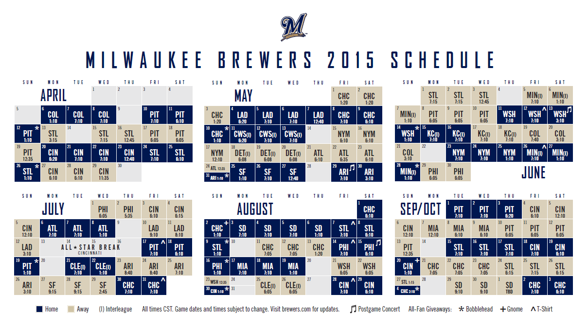 It is a graphic of Sassy Brewers Schedule Printable
