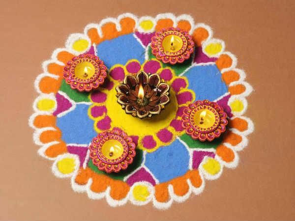 Dhanteras Rangoli Design 14