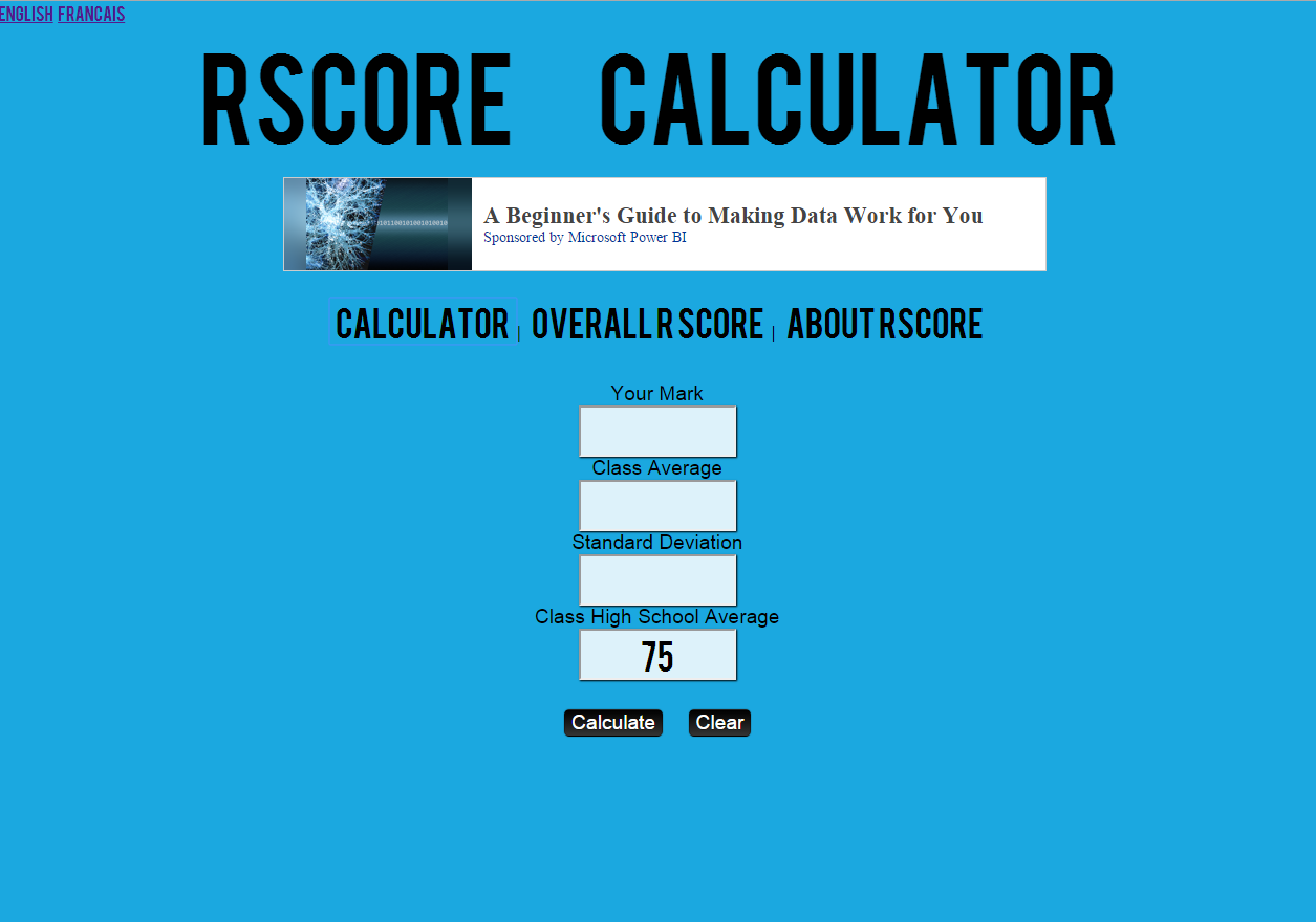 R Score Calculator Say What?: Demystifying The R Score