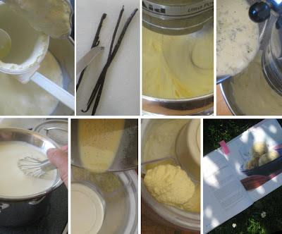 Zubereitung Cremiges Vanilleeis