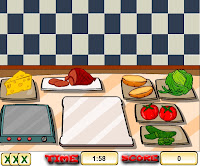لعبة مطعم الهمبرجر