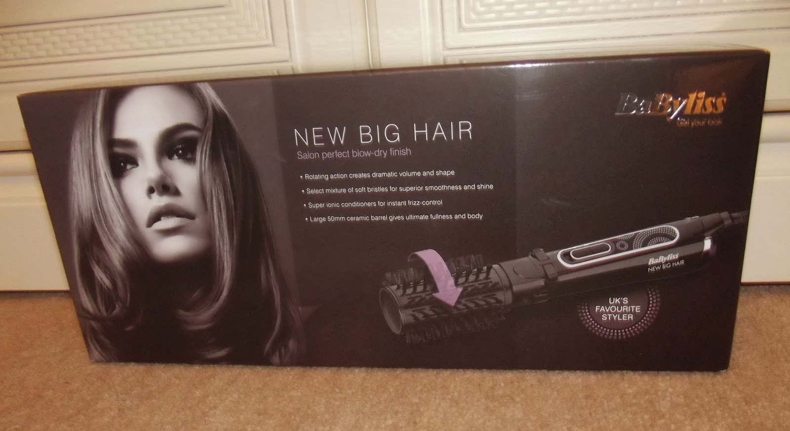 Babyliss Big Hair Style Review Babyliss New Big Hair Sarah