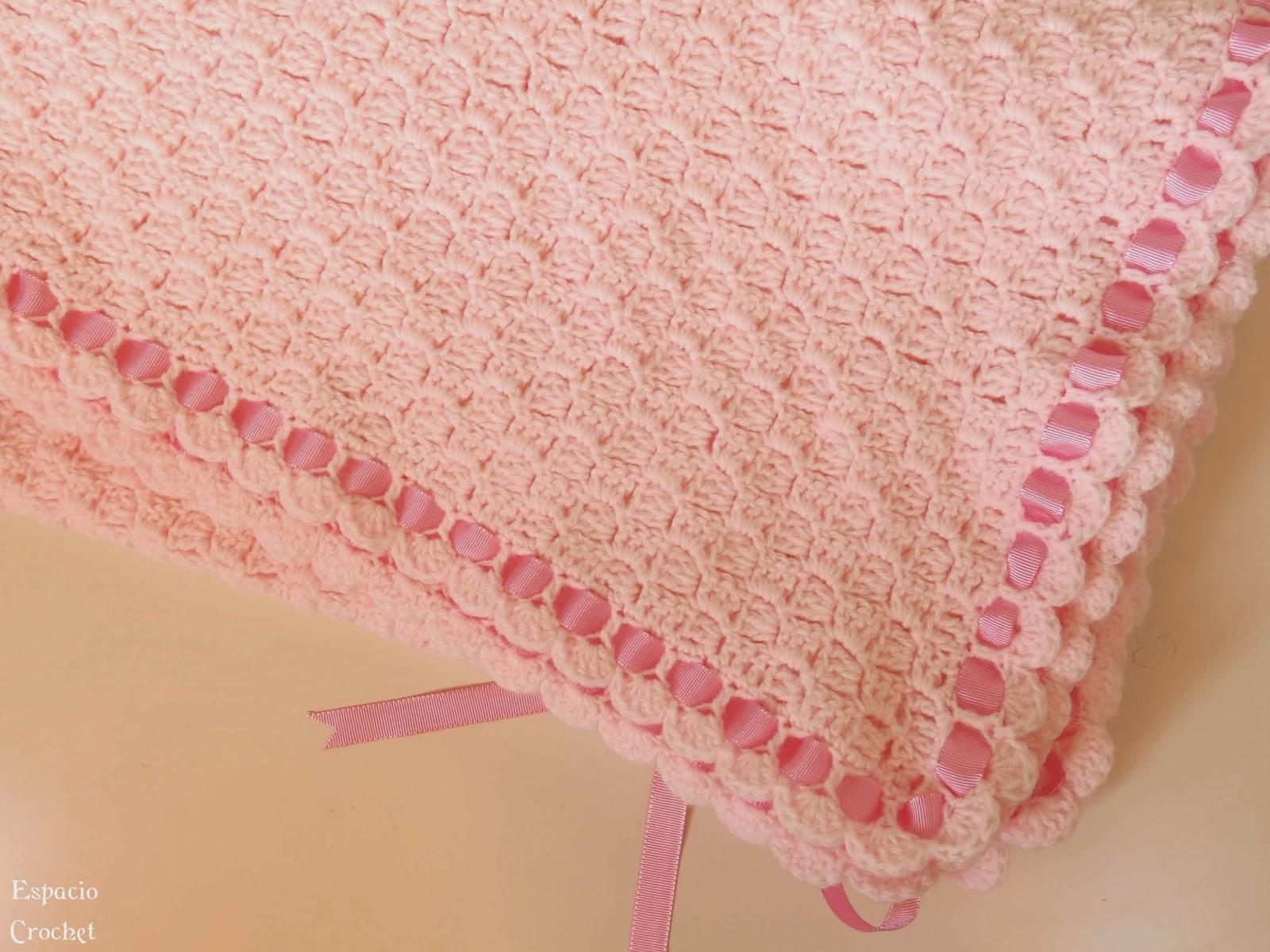 Manta para bebé | Espacio Crochet