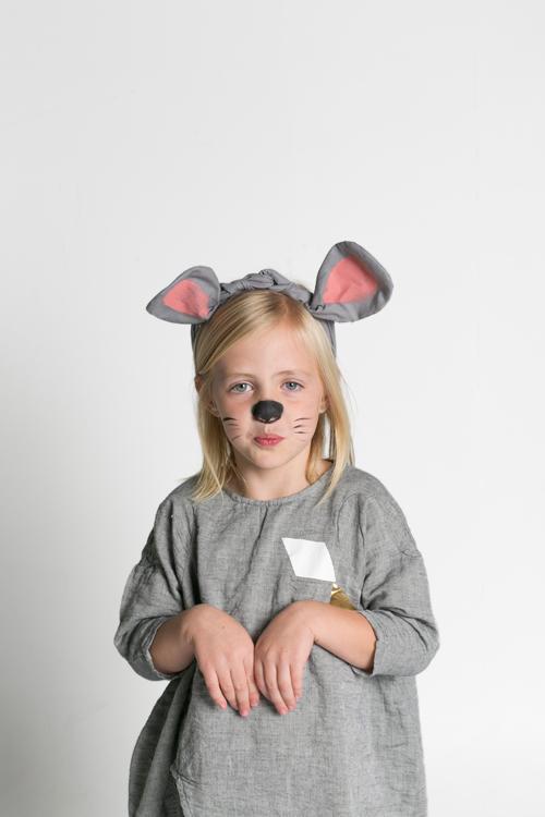 Mouse ears twisty headwrap