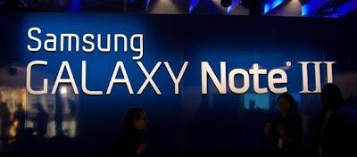 Samsung Resmi Keluarkan Galaxy Note III  Pada 4 September
