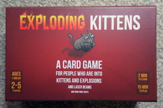 Exploding Kittens box art