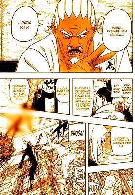 Naruto Shippuden Mangá 562: Encontrar a si mesmo